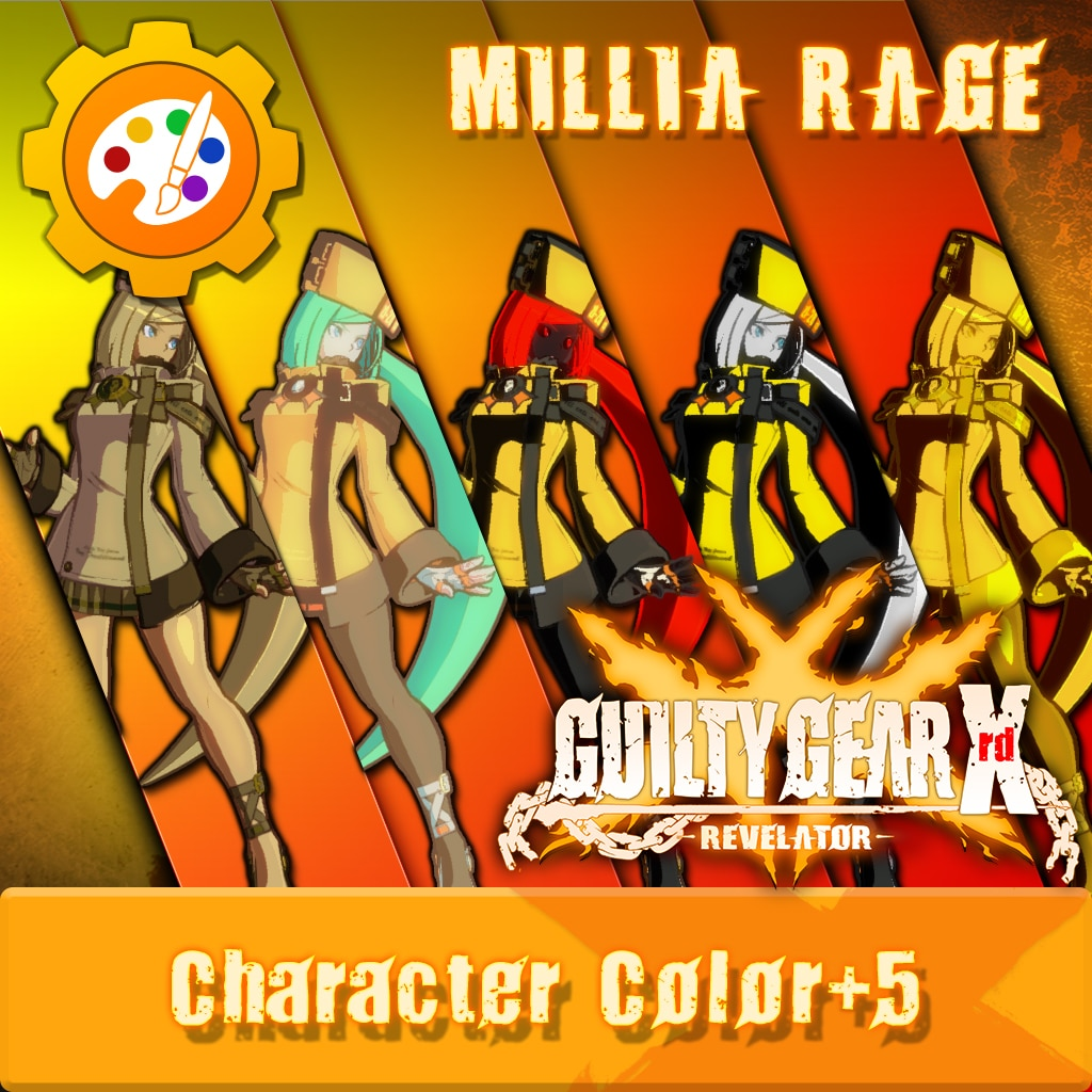 GGXR - Additional Character Colors 'Millia' [Cross-Buy]