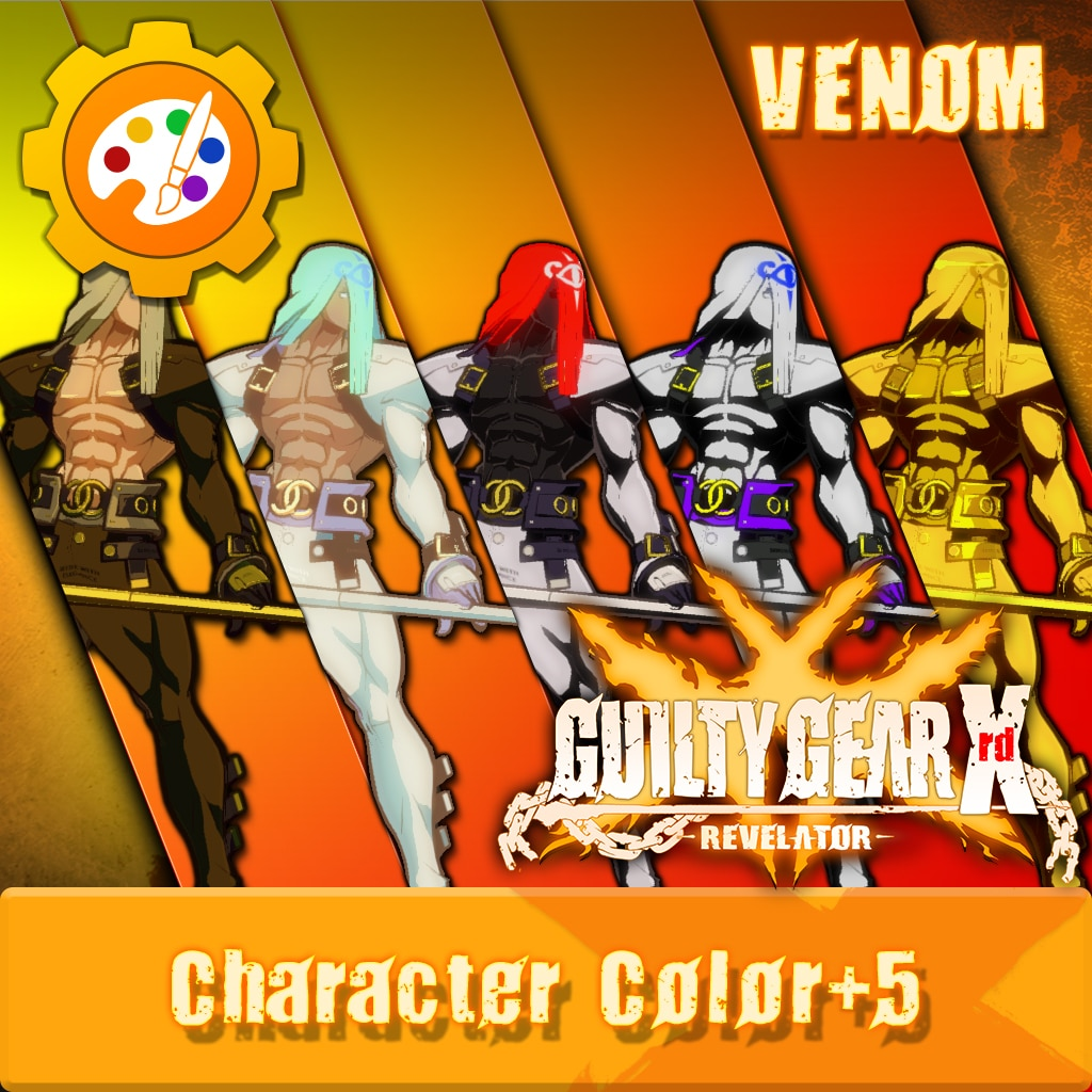 GGXR - Additional Character Colors 'Venom' [Cross-Buy]