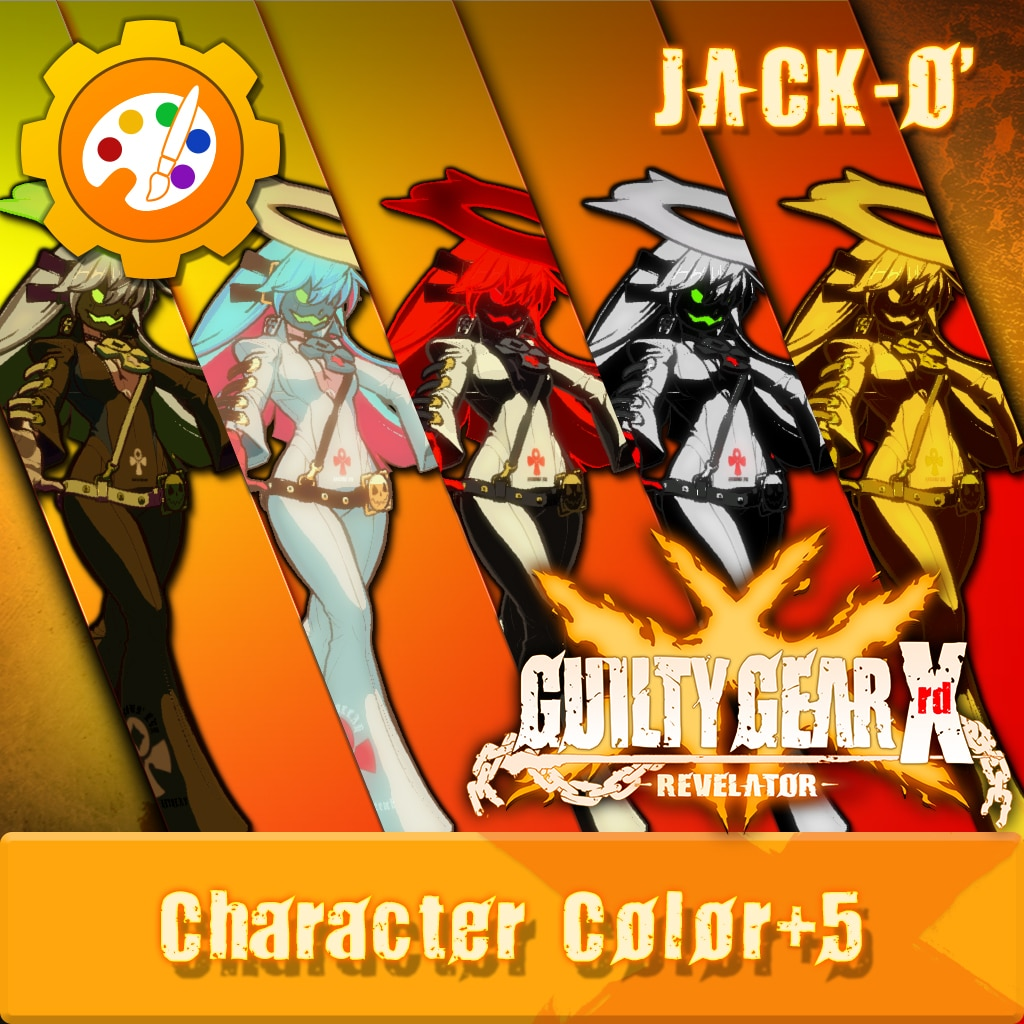 GGXR - Additional Character Color 'Jack-O' [Cross-Buy]