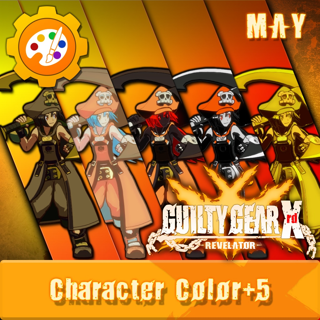 GGXR - Additional Character Colors 'May' [Cross-Buy]