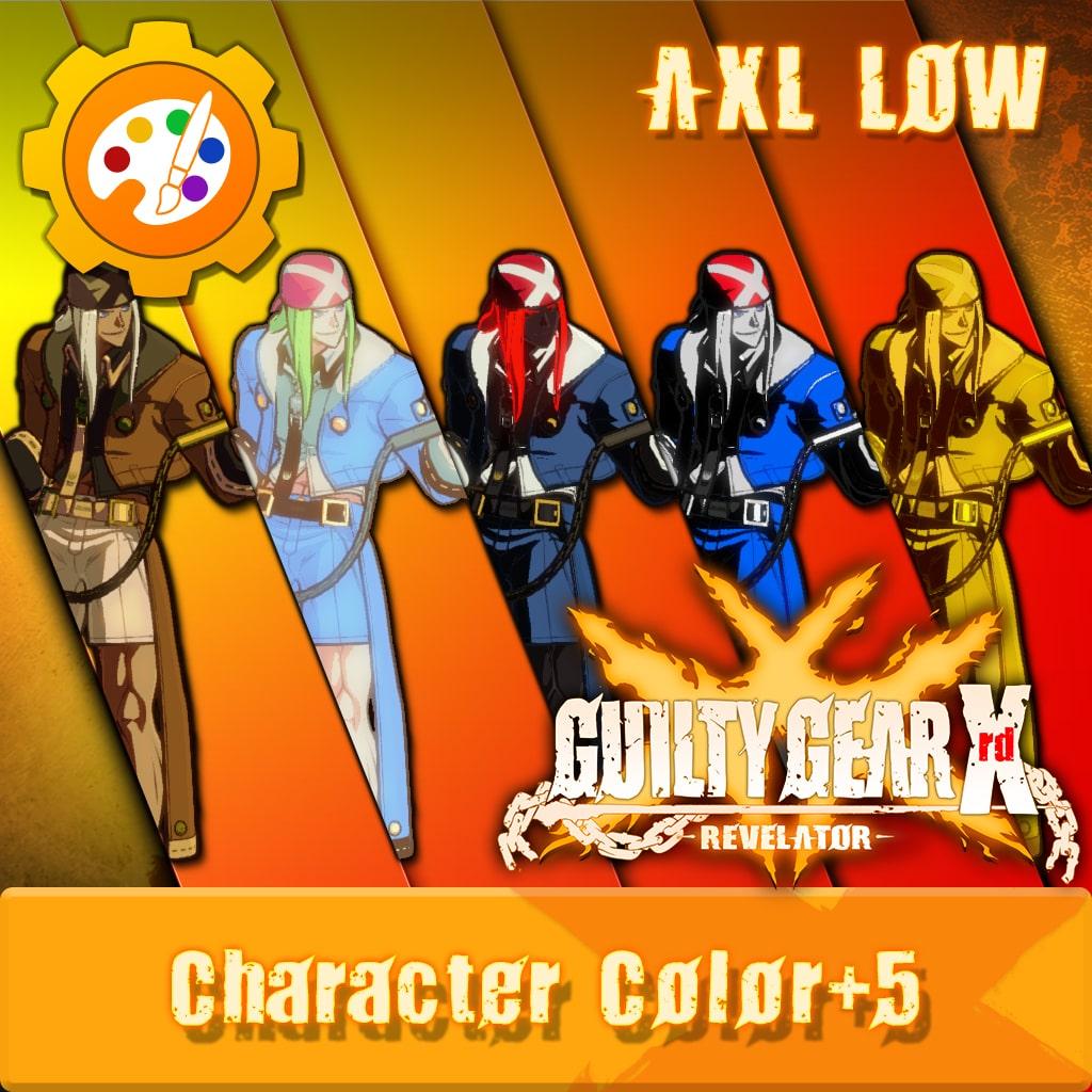 GUILTY GEAR Xrd -REVELATOR- Character Color 'Axl' [Cross-Buy]