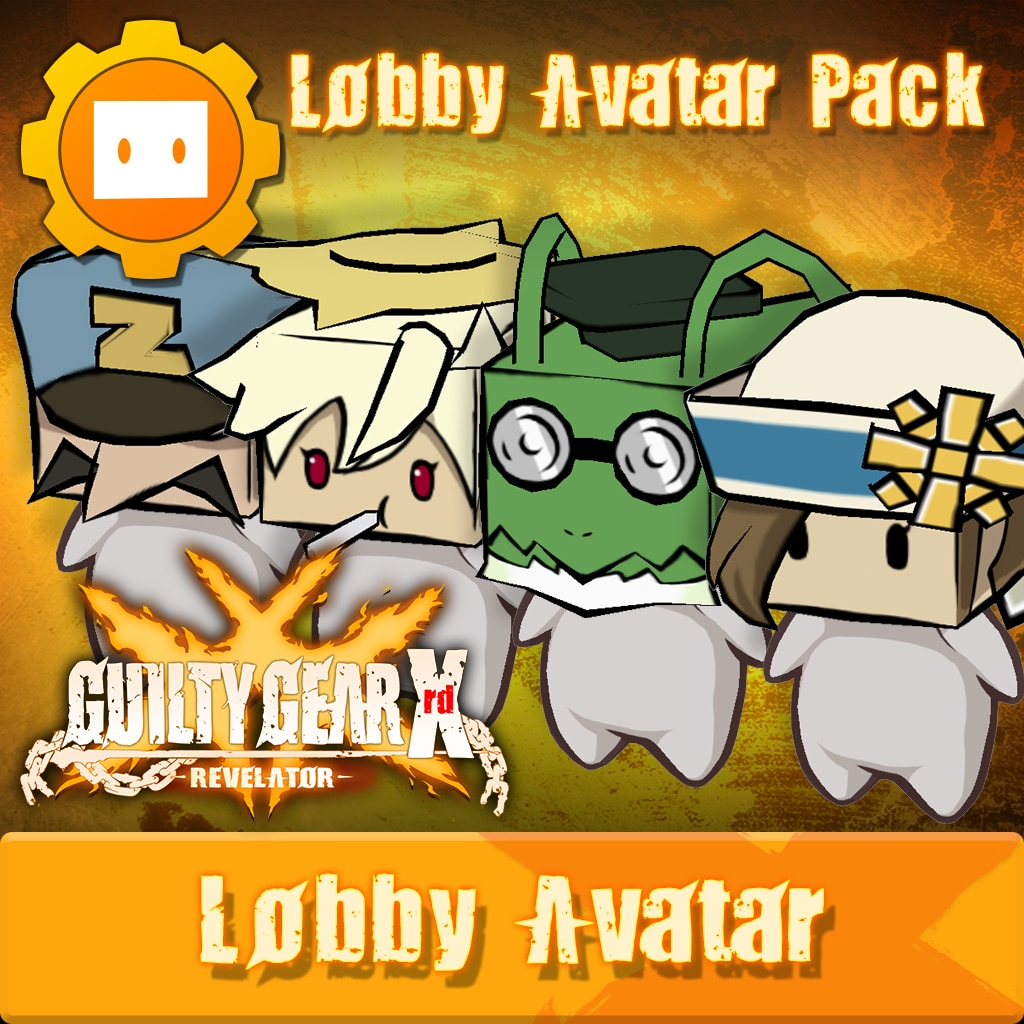 GGXR - Additional Lobby Avatar Pack [Cross-Buy]