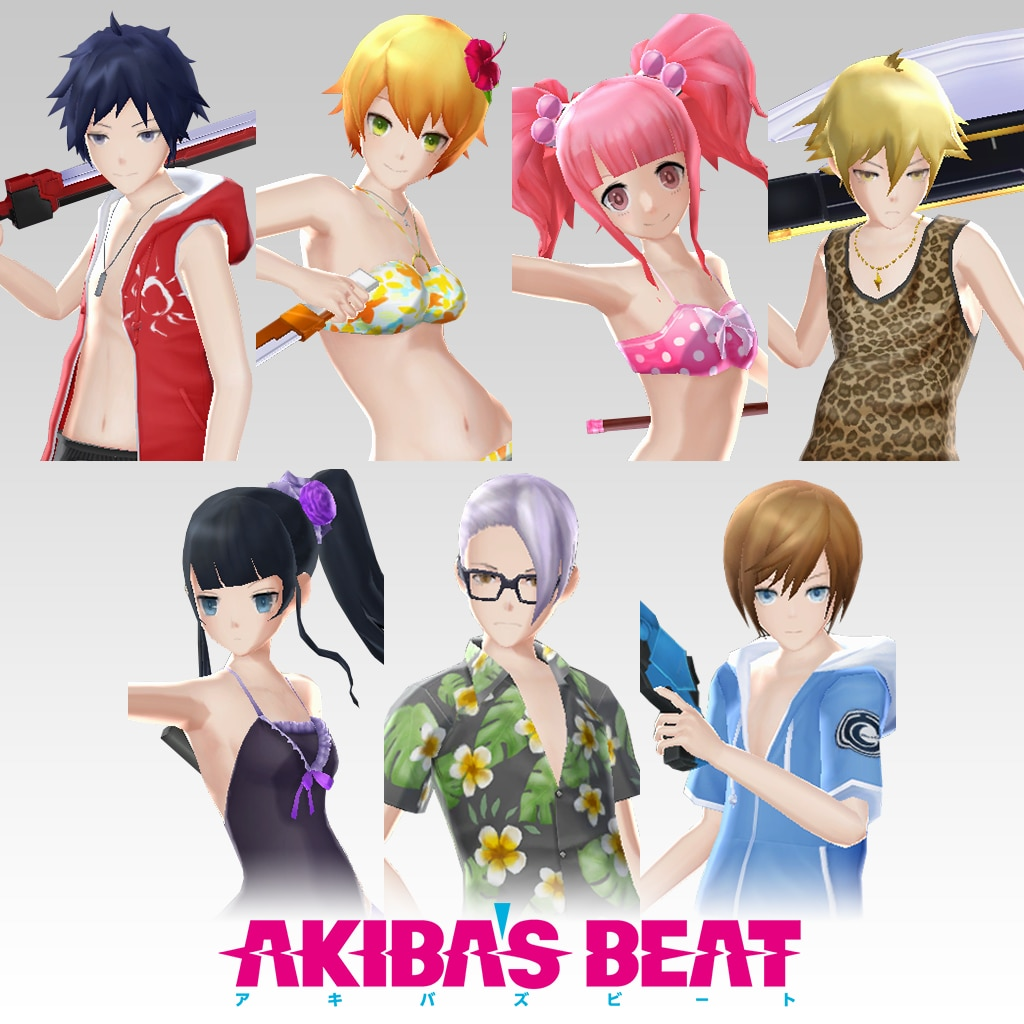 Akiba's Beat - Swimsuit Costume Set [Cross-Buy]
