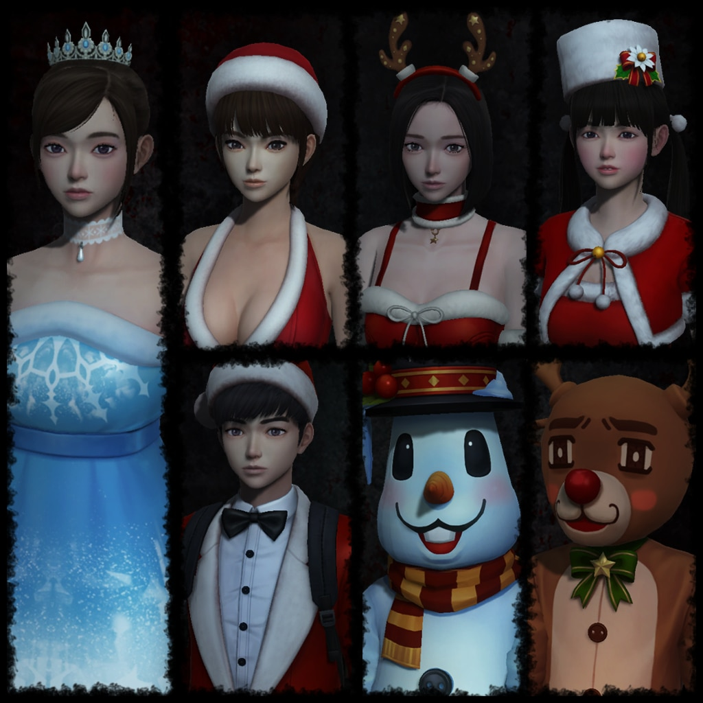 White Day - Christmas Costume Set