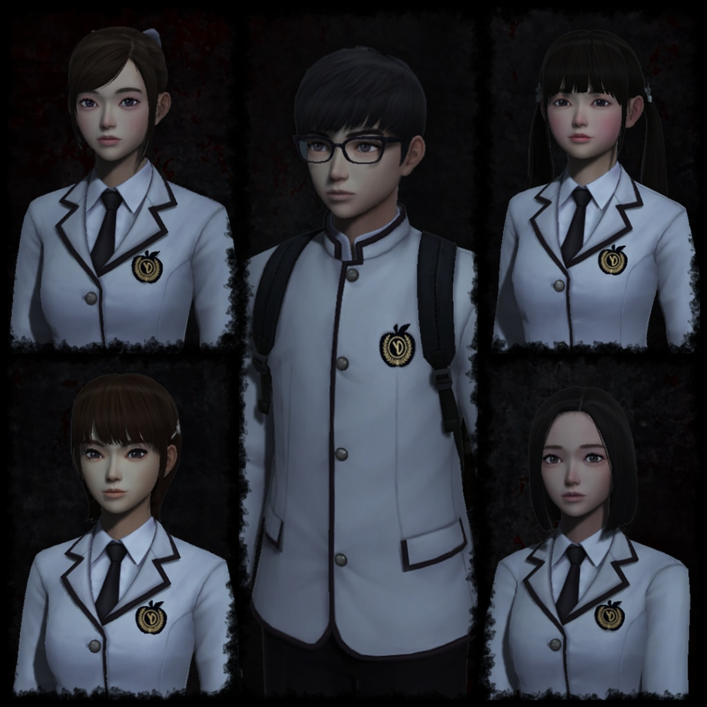 White Day - Apple School Uniform Set