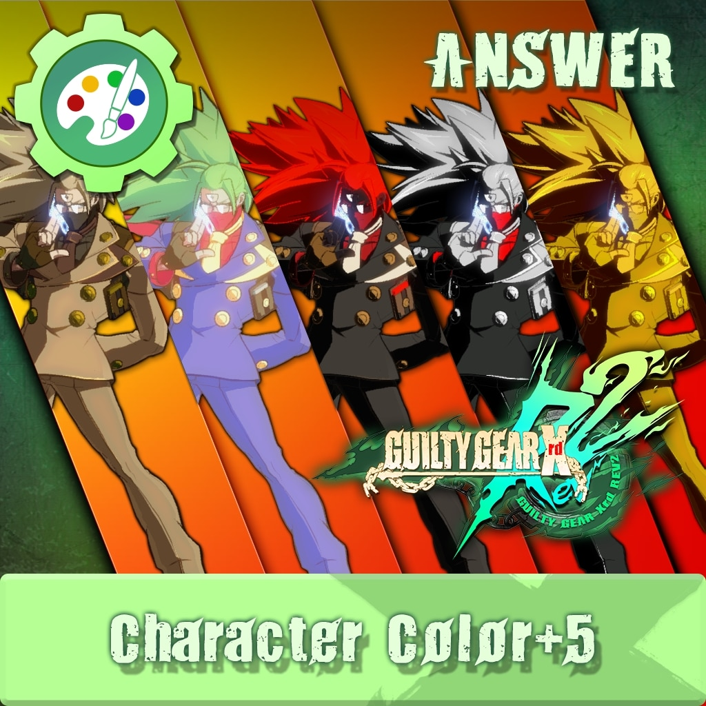 GUILTY GEAR Xrd Rev.2 Additional Character Color - ANSWER