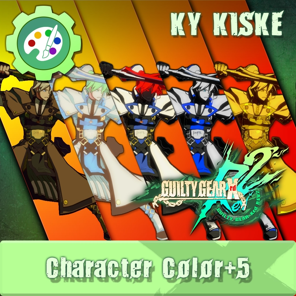 GUILTY GEAR Xrd Rev.2 Additional Character Color - KY