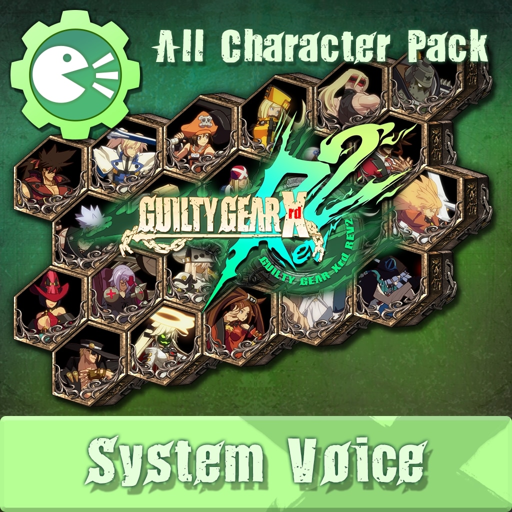 GUILTY GEAR Xrd Rev.2 System Voice 'All in Pack'