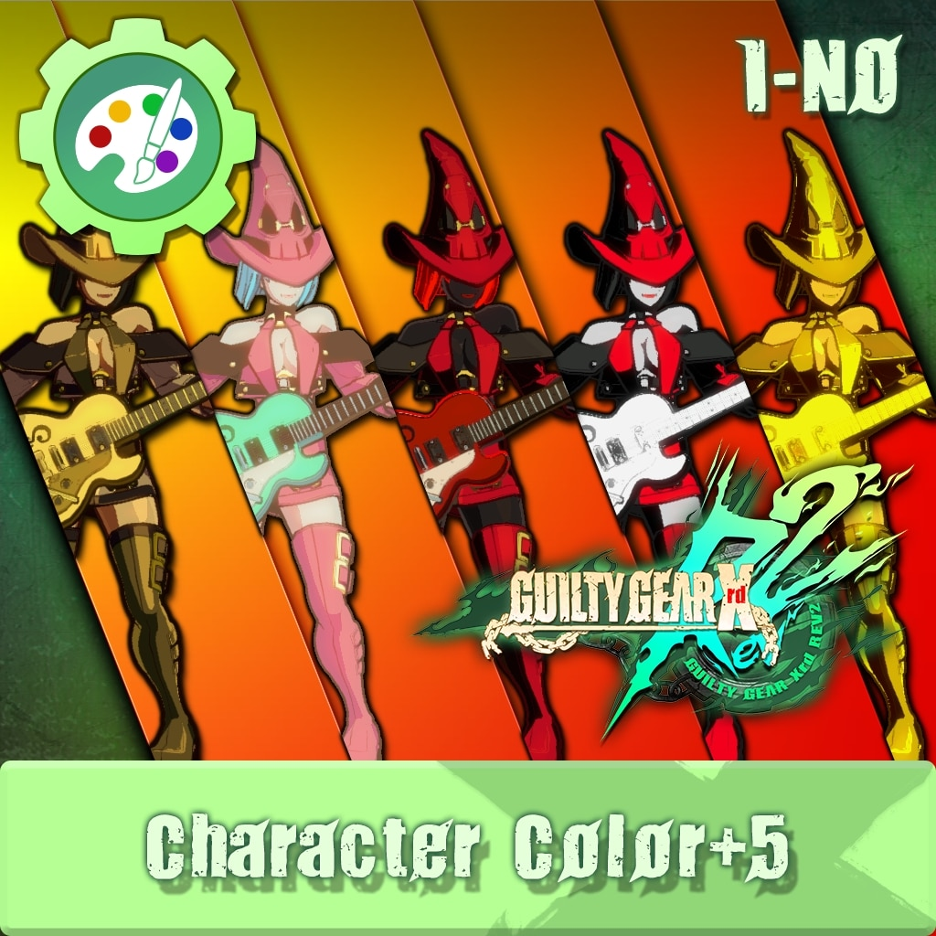 GUILTY GEAR Xrd Rev.2 Additional Character Color - I-NO