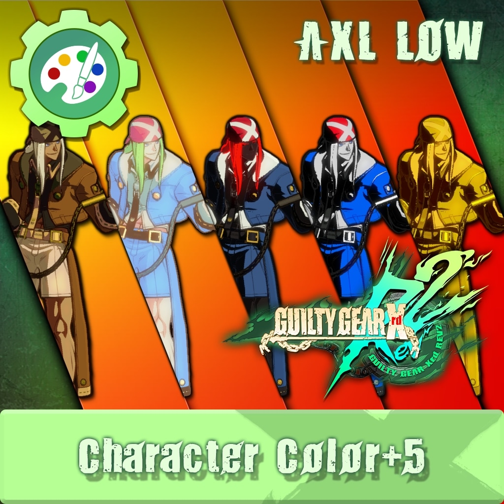 GUILTY GEAR Xrd Rev.2 Additional Character Color - AXL