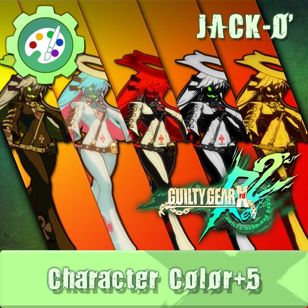 GUILTY GEAR Xrd Rev.2 Additional Character Color - JACK-O