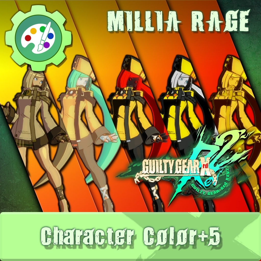 GUILTY GEAR Xrd Rev.2 Additional Character Color - MILLIA