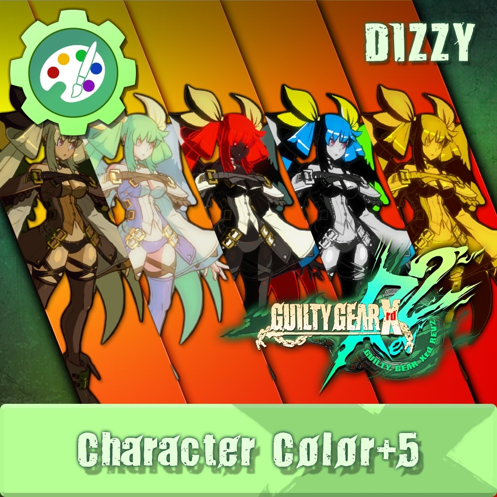 GUILTY GEAR Xrd Rev.2 Additional Character Color - DIZZY