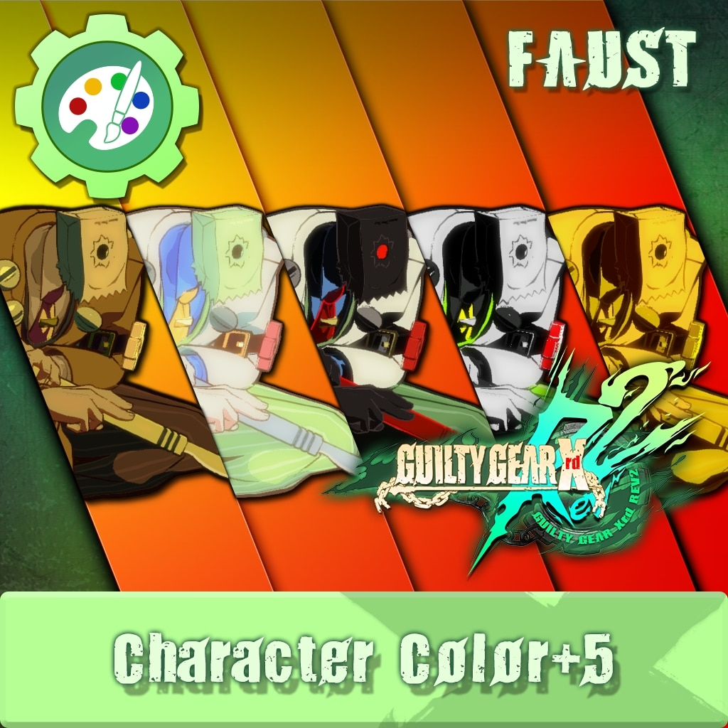 GUILTY GEAR Xrd Rev.2 Additional Character Color - FAUST