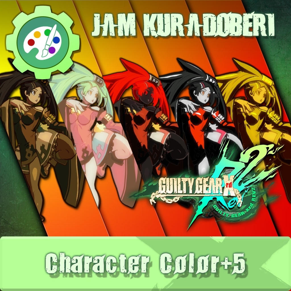 GUILTY GEAR Xrd Rev.2 Additional Character Color - JAM