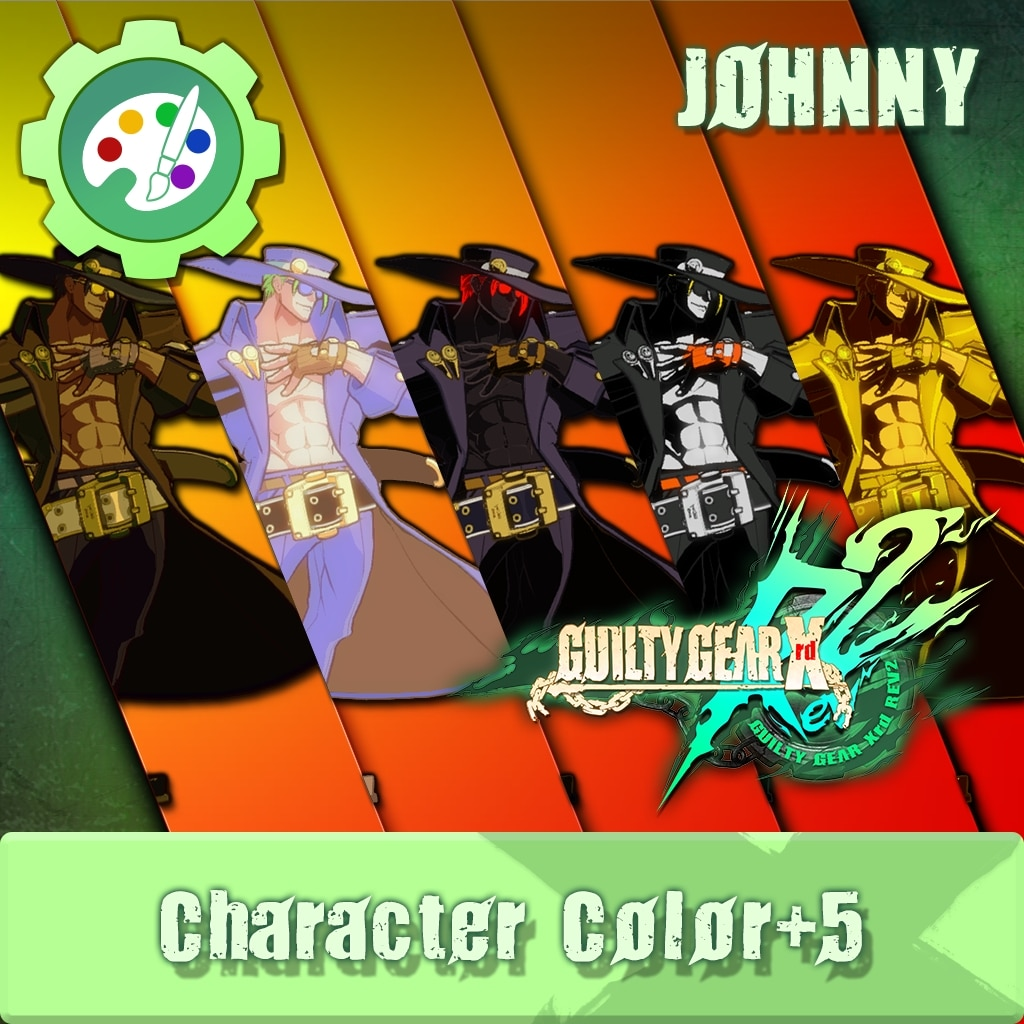 GUILTY GEAR Xrd Rev.2 Additional Character Color - JOHNNY