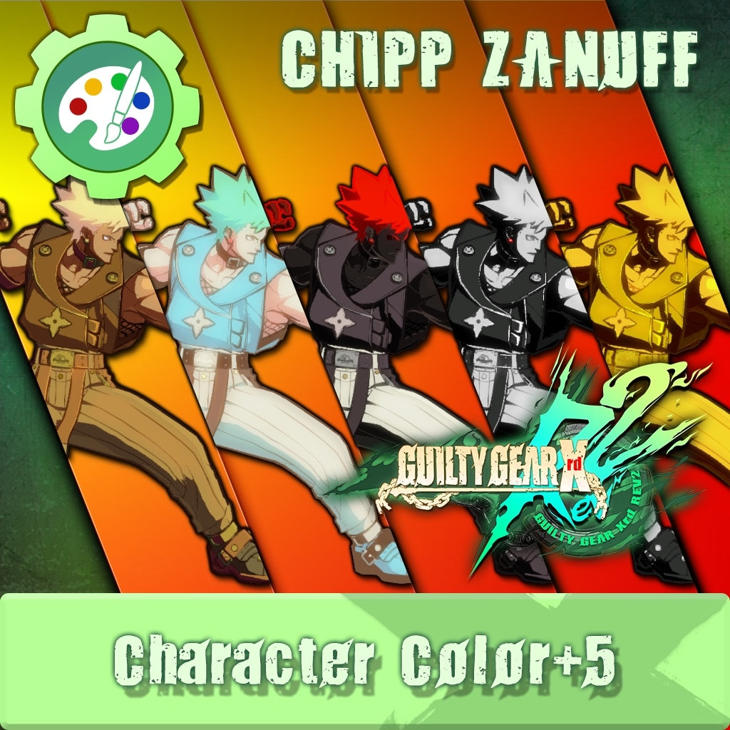 GUILTY GEAR Xrd Rev.2 Additional Character Color - CHIPP