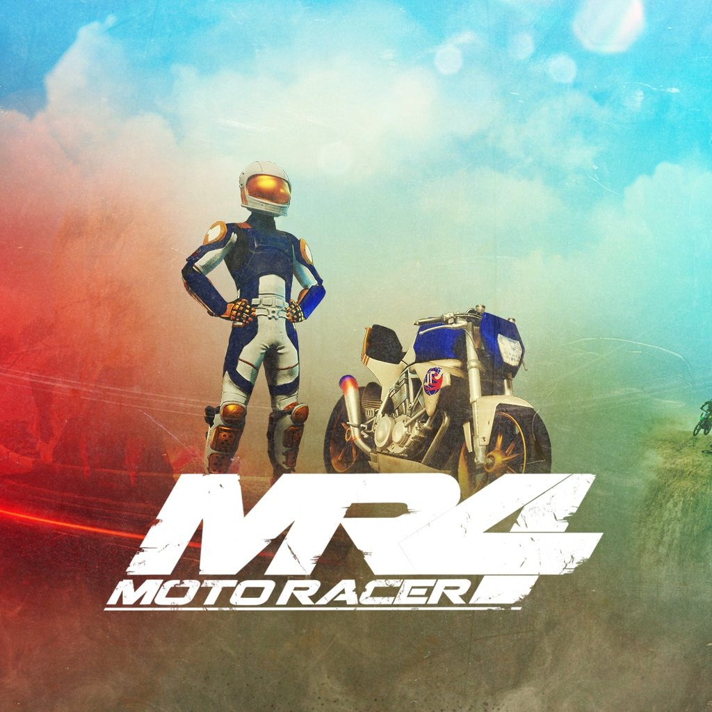 Moto Racer 4 - Rider Pack - Space Dasher