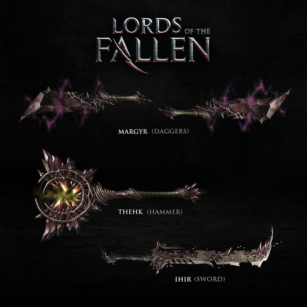 Demonic Weapons Pack