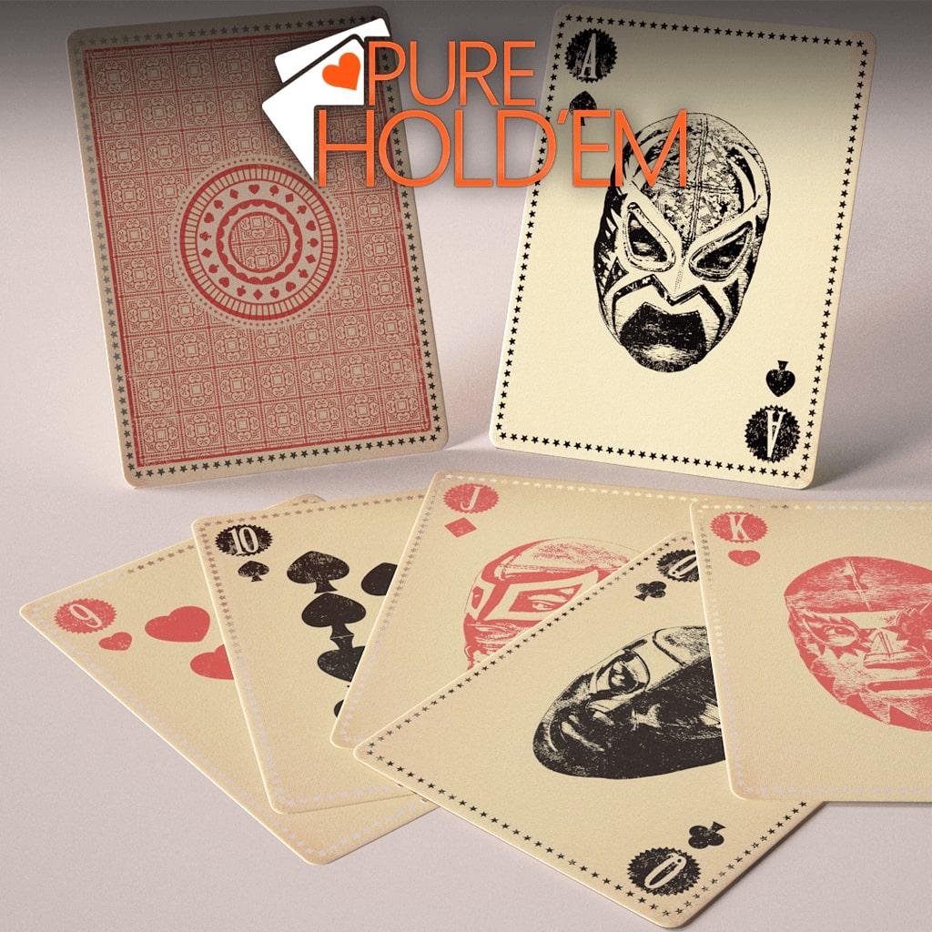 Pure Hold'em Lucha Libre card deck