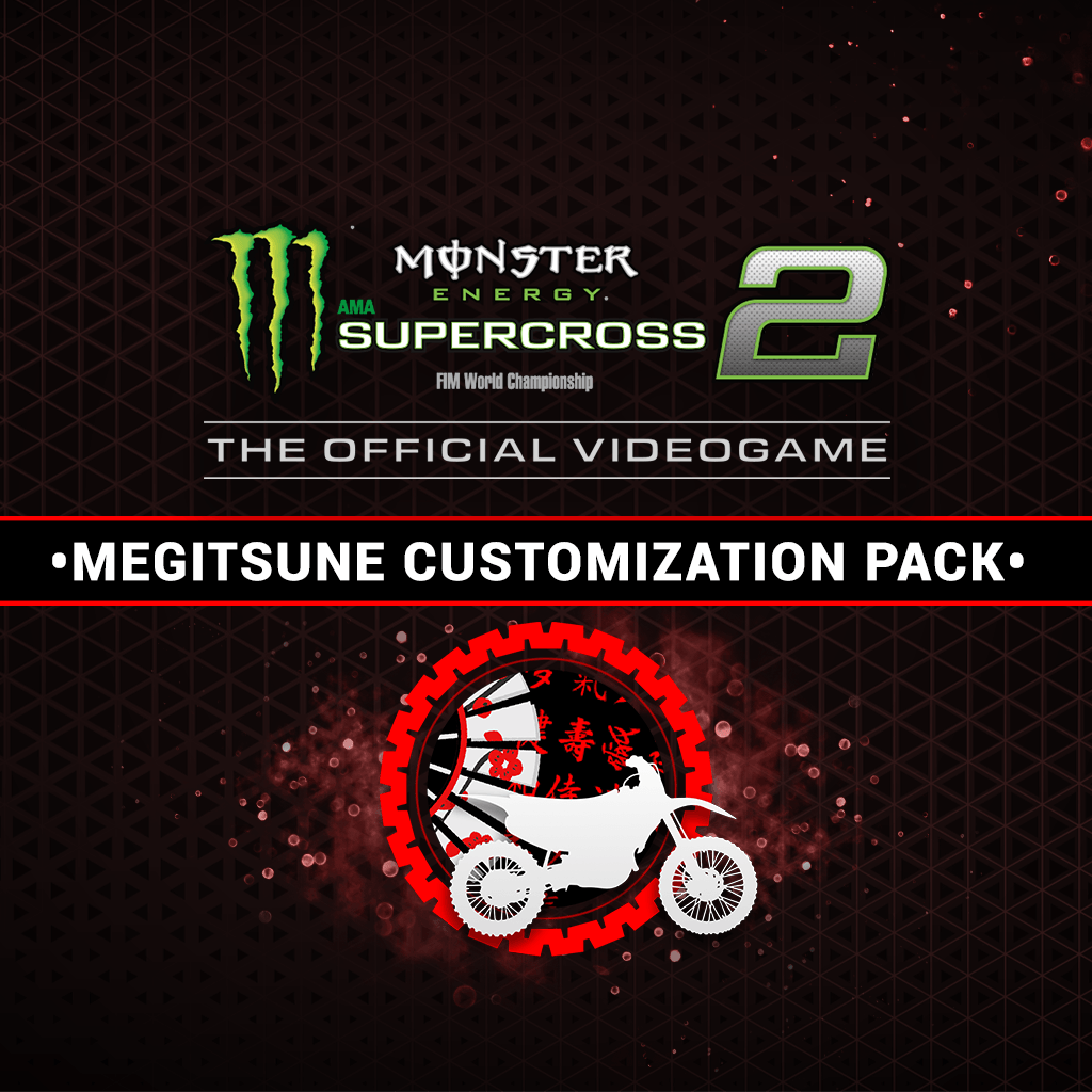 Monster Energy Supercross 2 - Megitsune Customization Pack