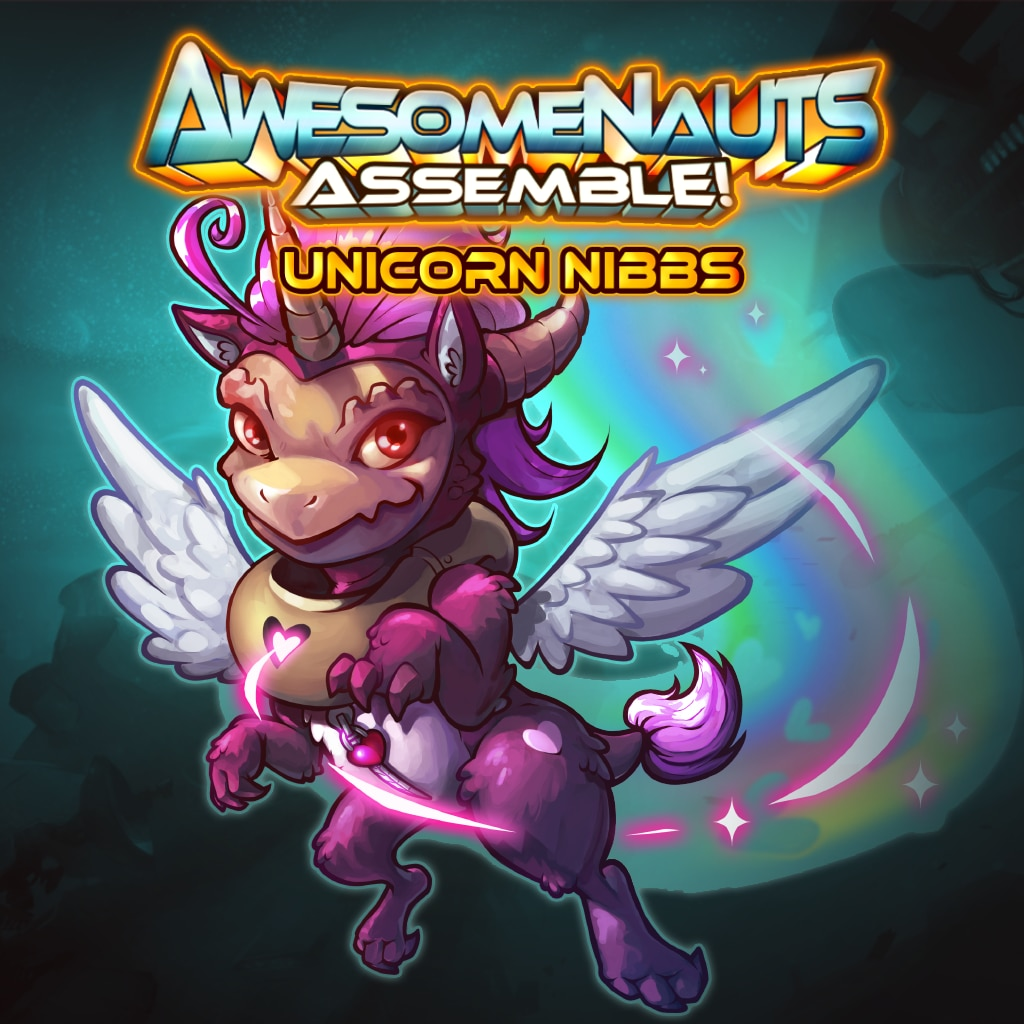 Unicorn Nibbs - Awesomenauts Assemble! Kostyme