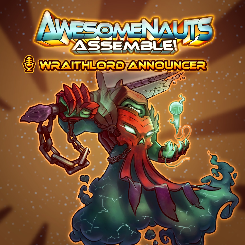 Awesomenauts Assemble! - Wraithlord Scoopالمعلق