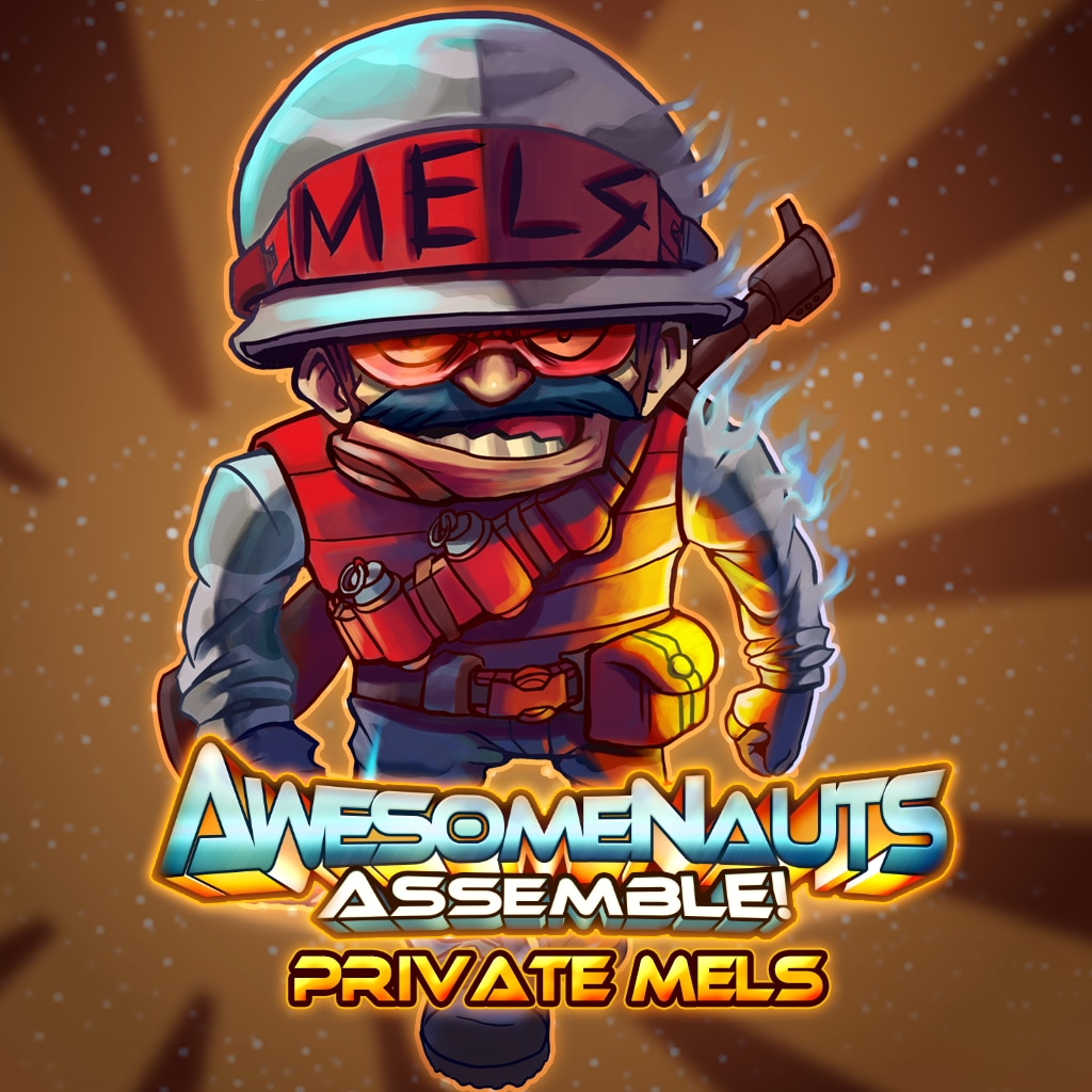 Awesomenauts Assemble! - Private Mels Skin