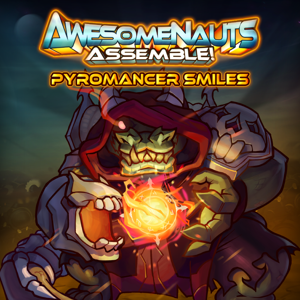 Pyromancer Smiles - Awesomenauts Assemble! Skin