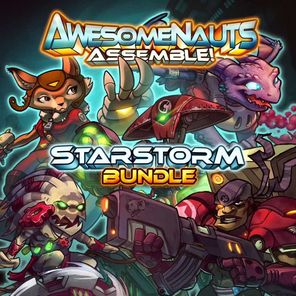 Awesomenauts Assemble! Starstorm Expansion Character Bundle