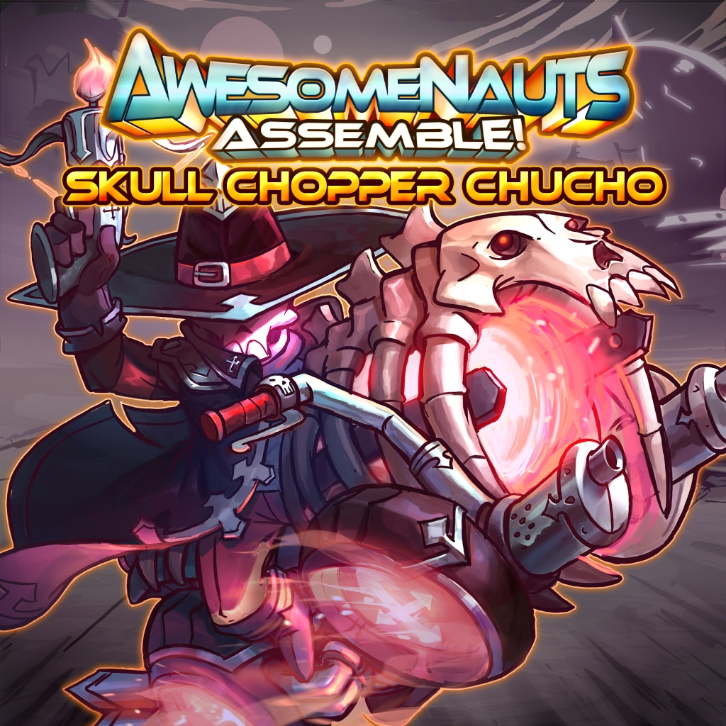 Skull Chopper Chucho - Awesomenauts Assemble! Kostyme
