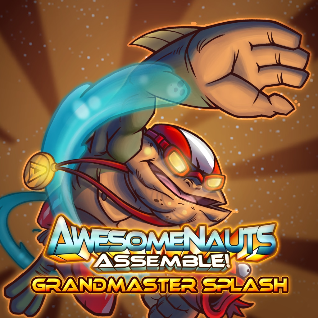 Awesomenauts Assemble! - Grandmaster Splash Skin