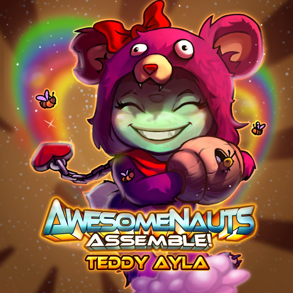 Awesomenauts Assemble! - Teddy Ayla Skin