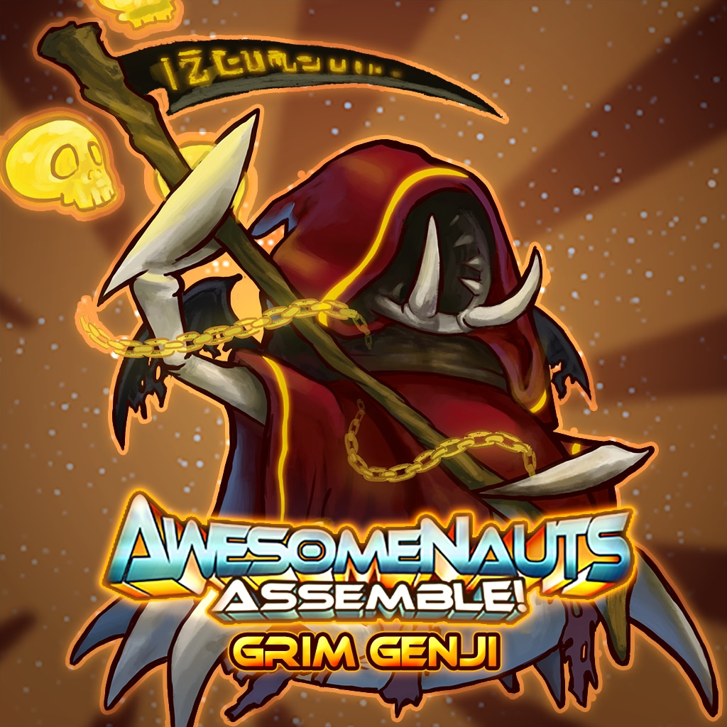 Awesomenauts Assemble! - Grim Genji Skin
