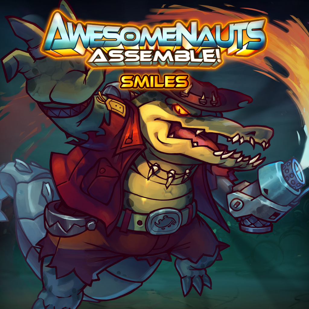 Smiles - Awesomenauts Assemble! Character
