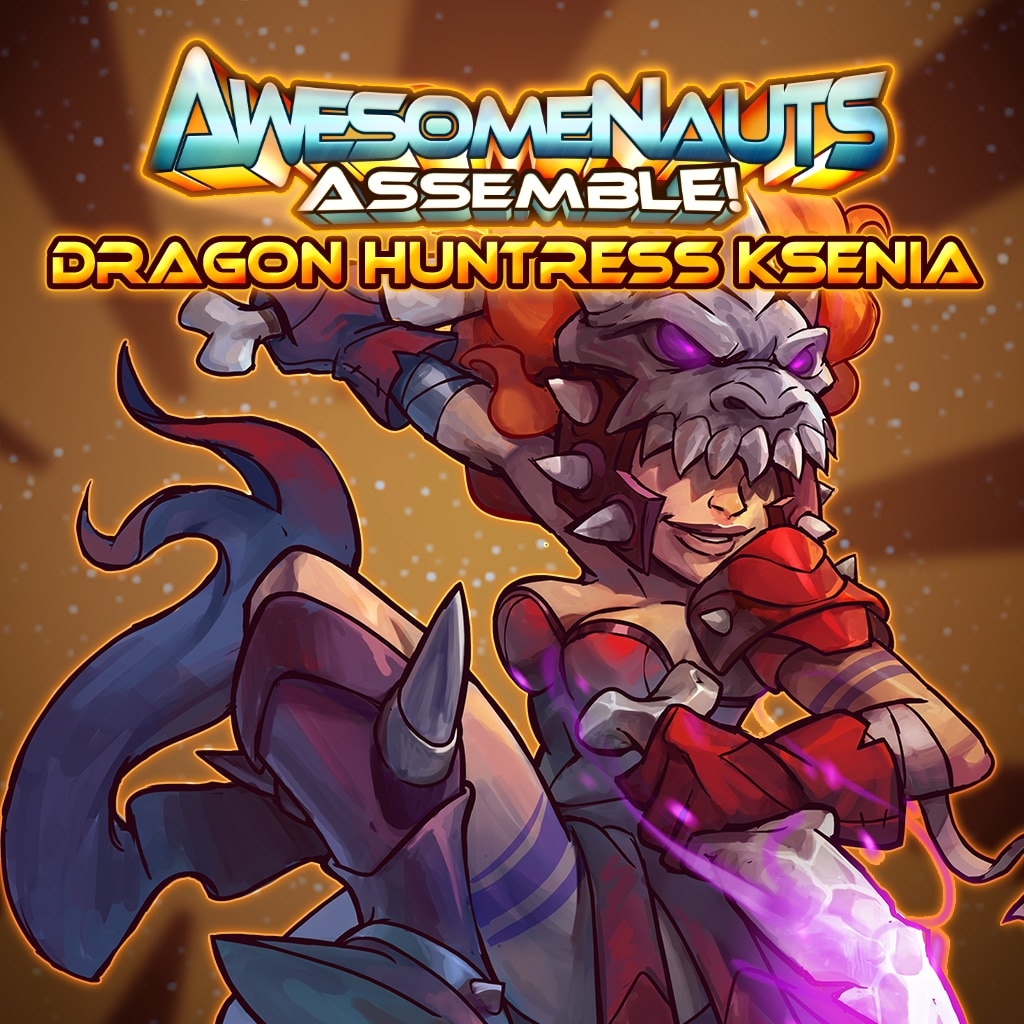 Dragon Huntress Ksenia - Awesomenauts Assemble! Skin