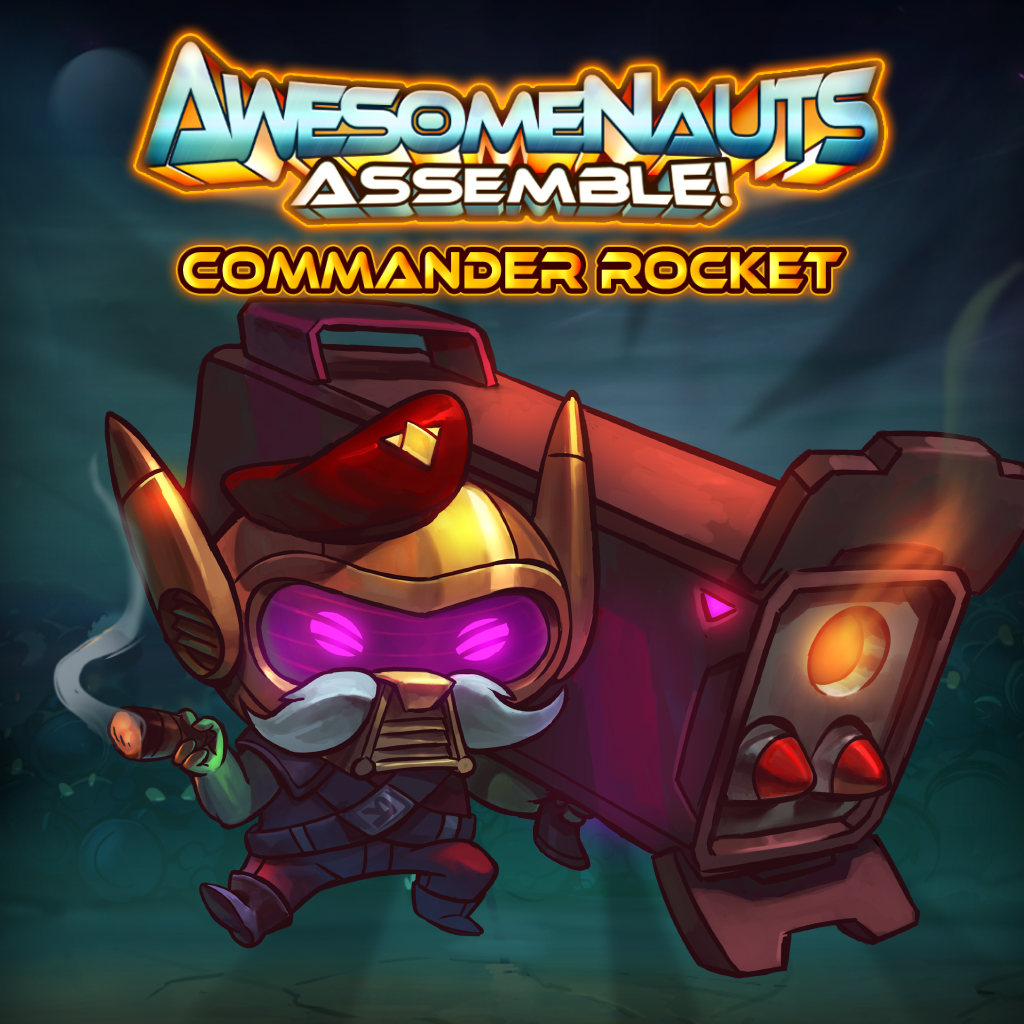 Commander Rocket - Awesomenauts Assemble! Character
