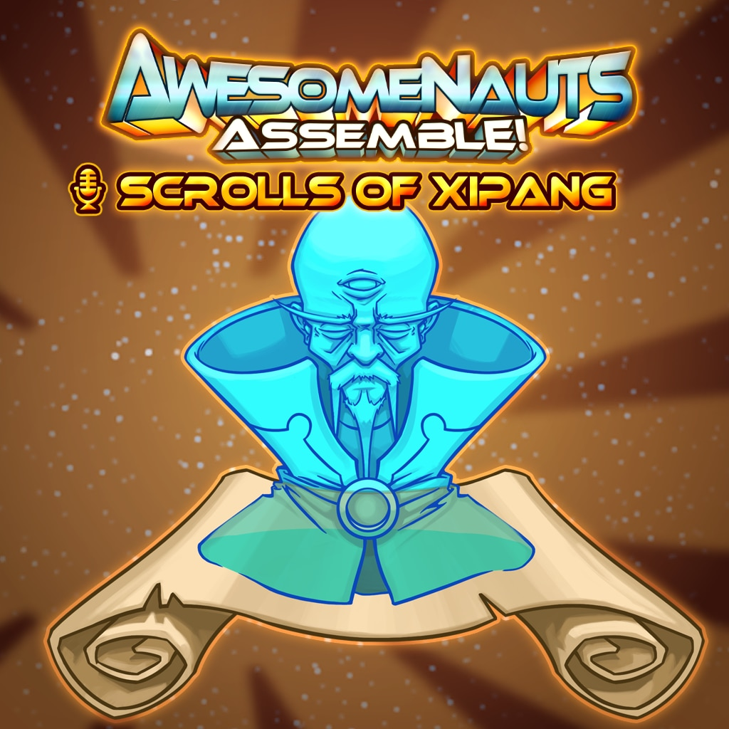 Awesomenauts Assemble! - Scrolls of Xipang Announcer