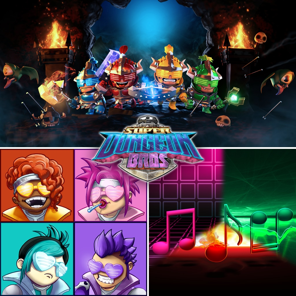 Super Dungeon Bros MEGA-Bundle-Pack
