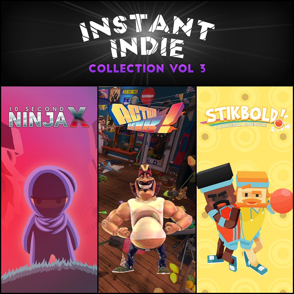 Instant Indie Collection: Vol. 3