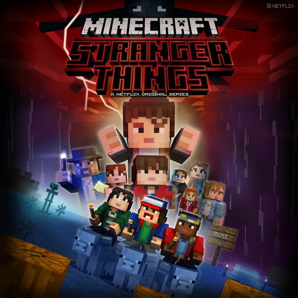 'Pack de skins Stranger Things Minecraft  '