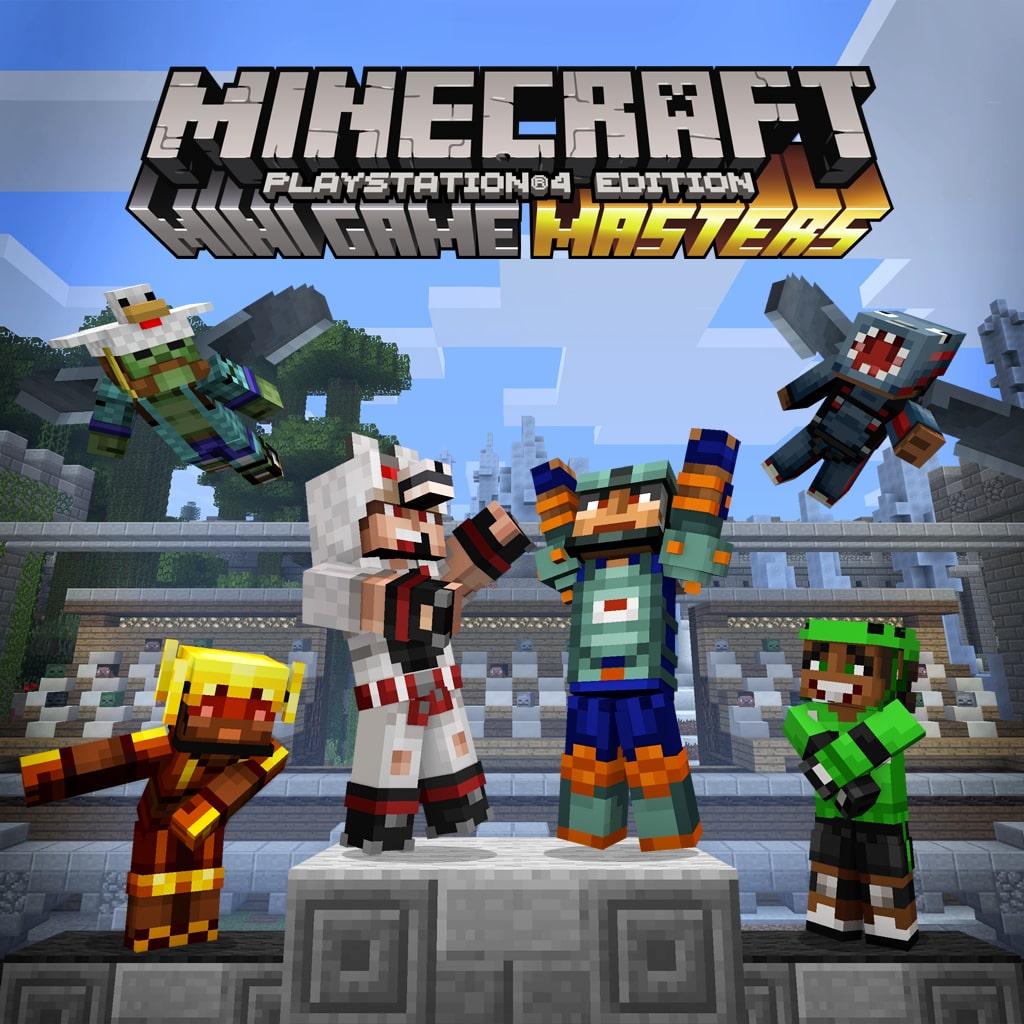Minecraft-skinpakken Minispilmestre