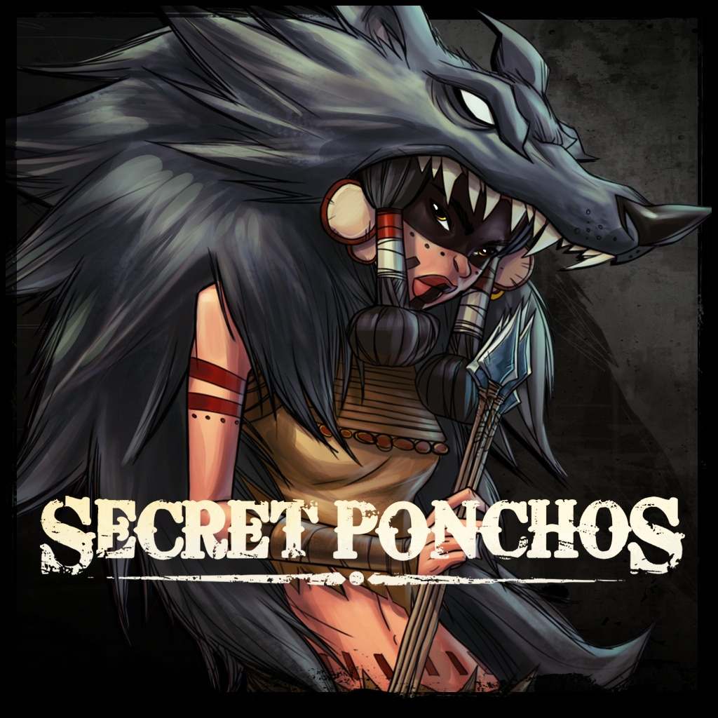 Secret Ponchos: Character Expansion - The Wolf