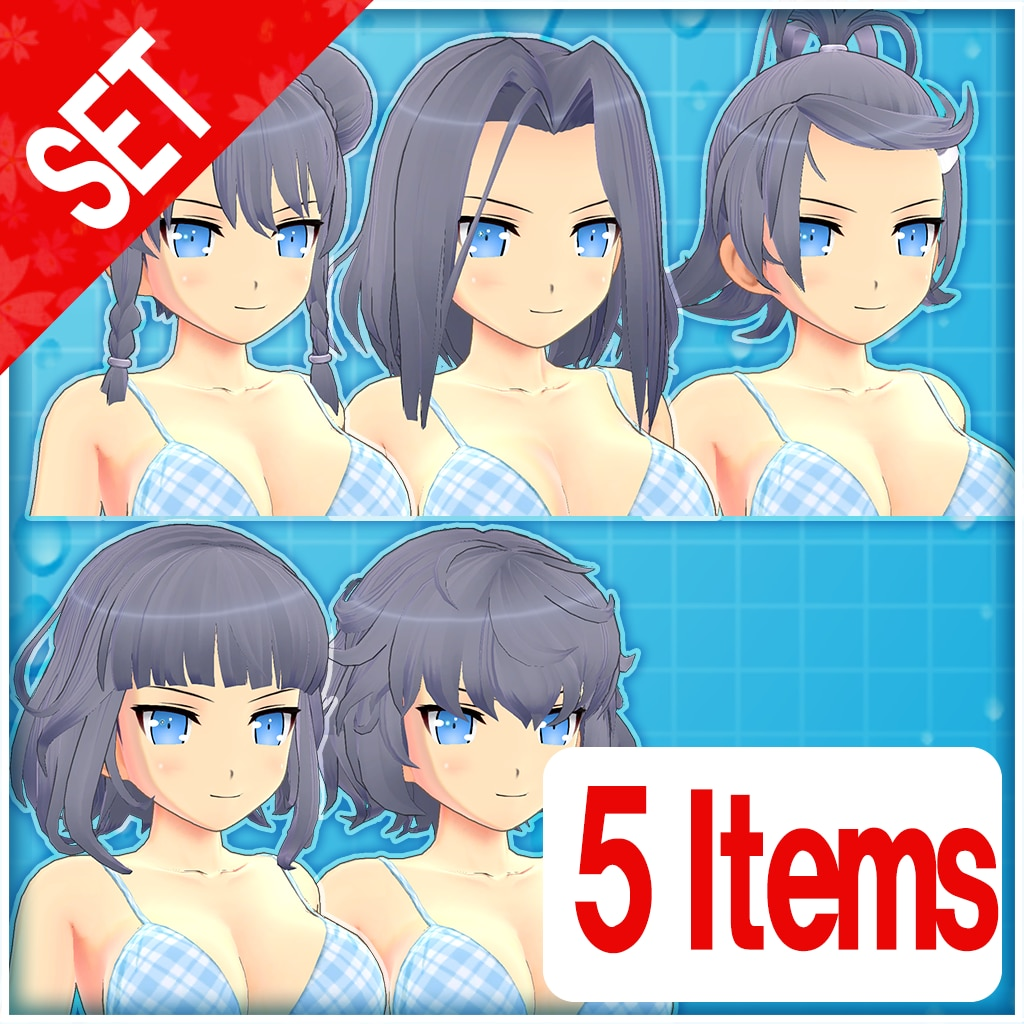 Hairstyle Set Vol. 1