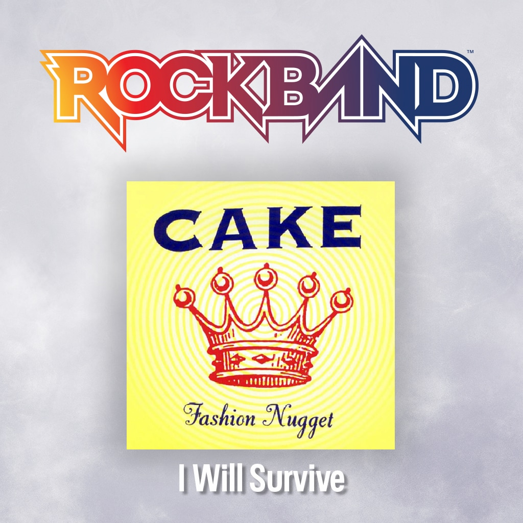 'I Will Survive' - Cake