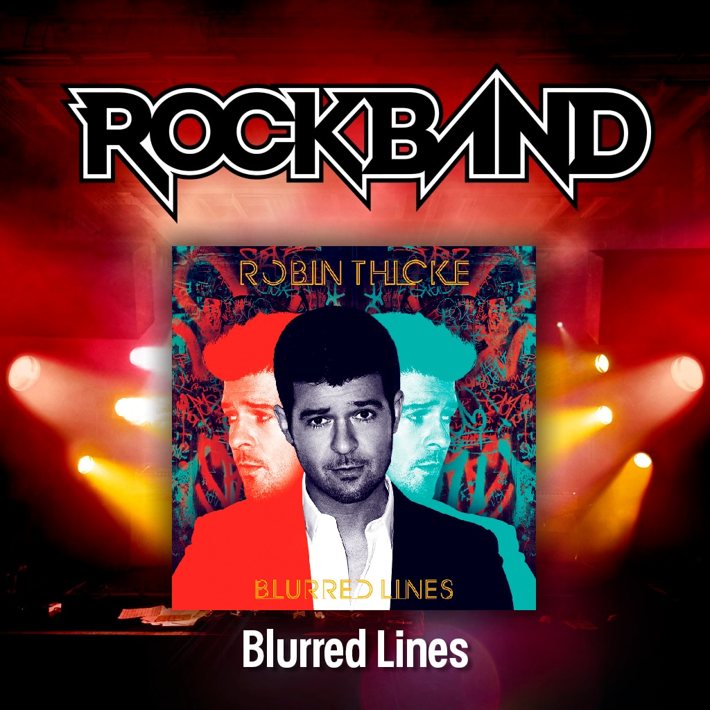 'Blurred Lines' - Robin Thicke ft. Pharrell