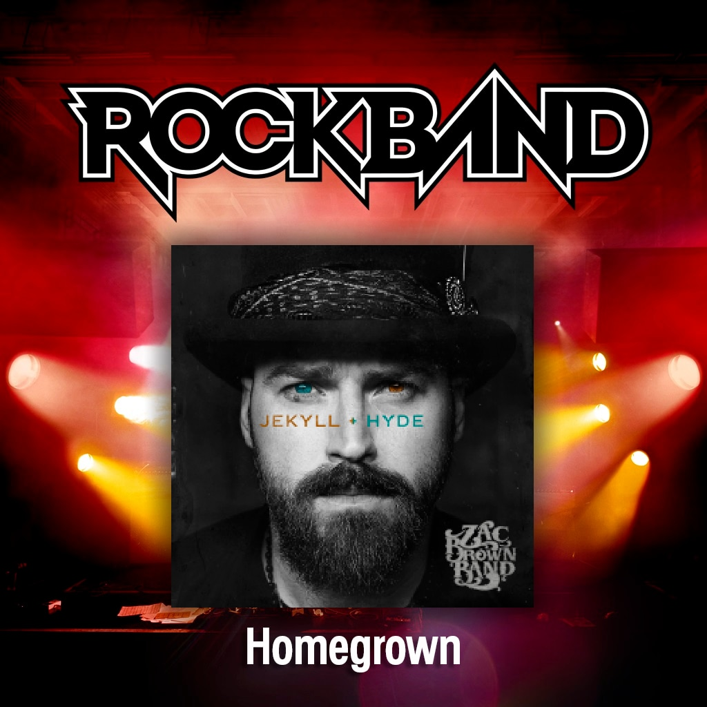 'Homegrown' - Zac Brown Band