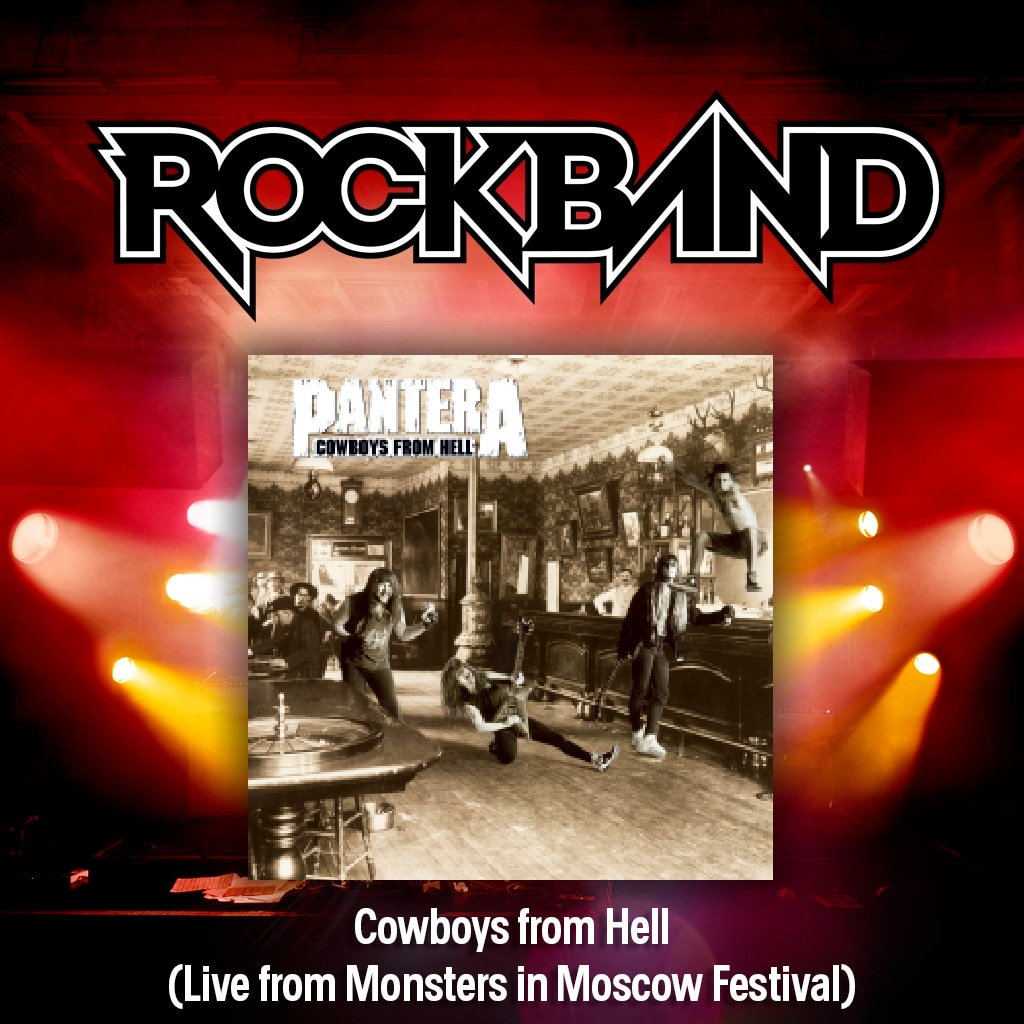 'Cowboys from Hell (Live from...)' - Pantera