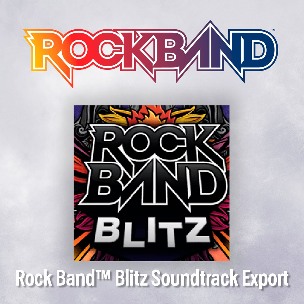 Rock Band™ Blitz Soundtrack Export Pack