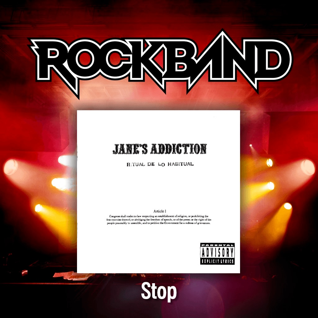 'Stop' - Jane's Addiction